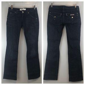 HUDSON Jeans Style 402DDR Color BIL Size 26 hemmed